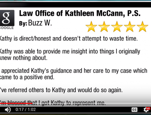 5 Star Attorney Review for Kathleen McCann