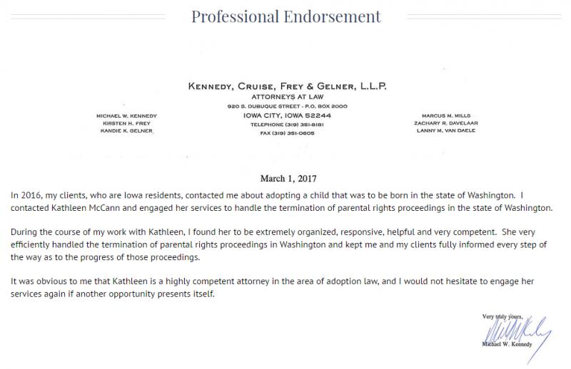 Professional_Endorsement
